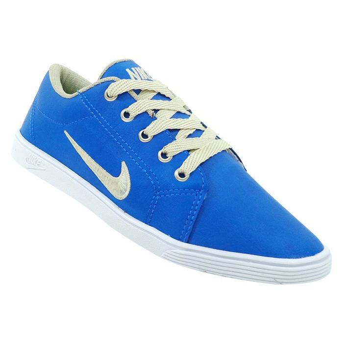 Sapatênis Nike - Sapatênis Feminino Nike Azul - Frete Grátis!!!