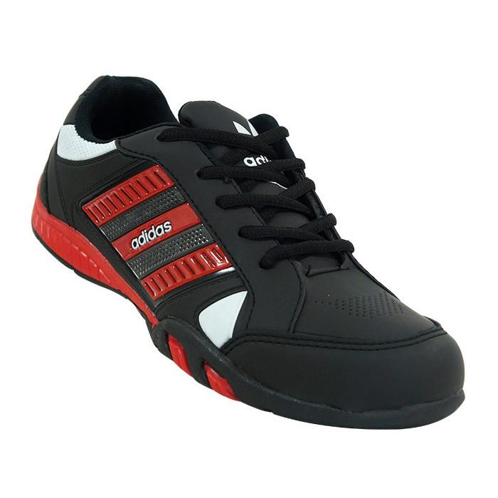 Tênis Adidas - Tênis Adidas F800 Preto e Vermelho - Frete Grátis!!!